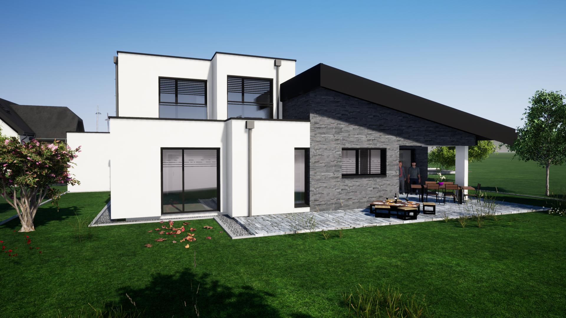 Maison neuve de 120 m2 à VESCHEIM