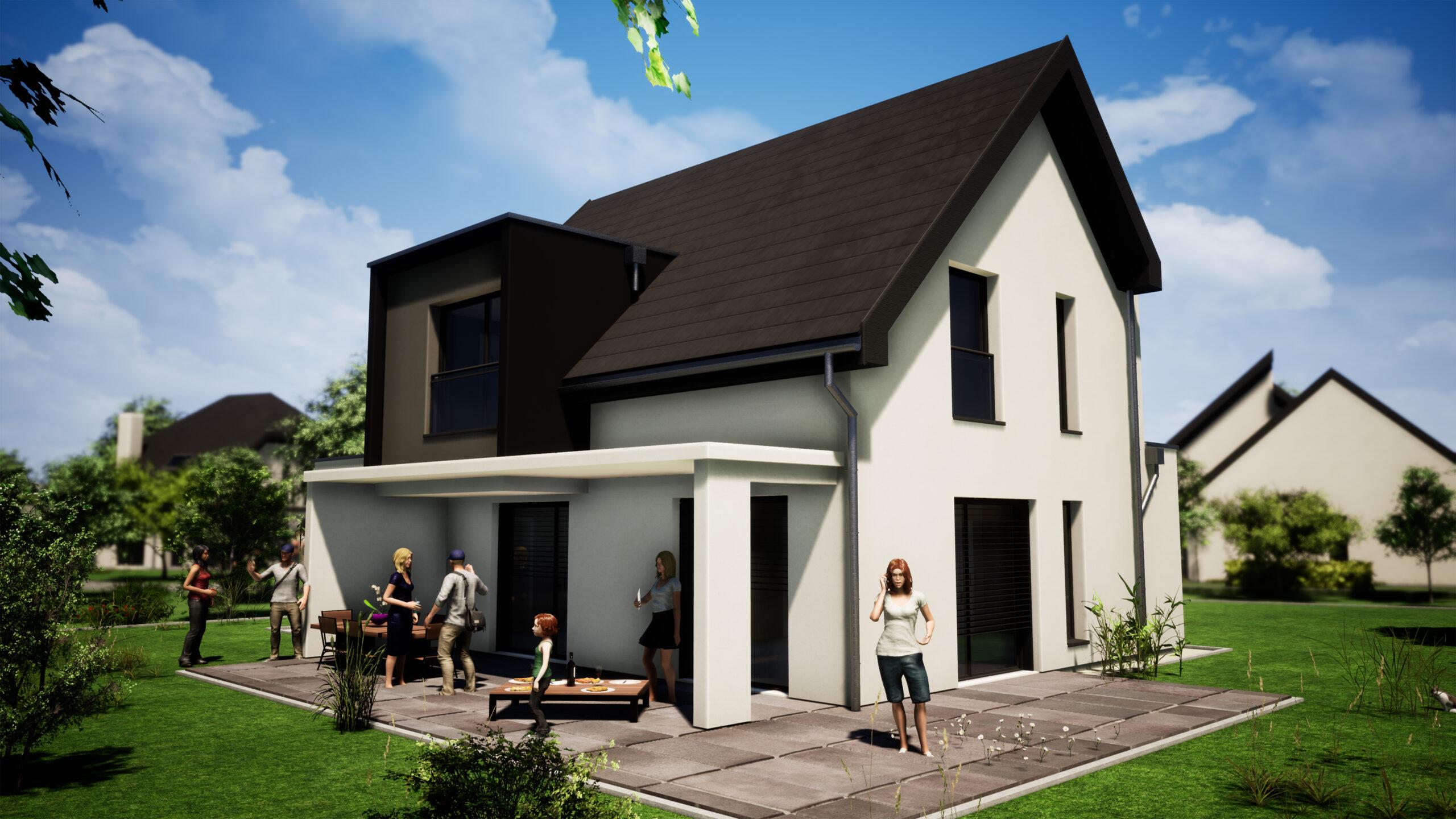 Maison neuve de 126 m2 à SAVERNE