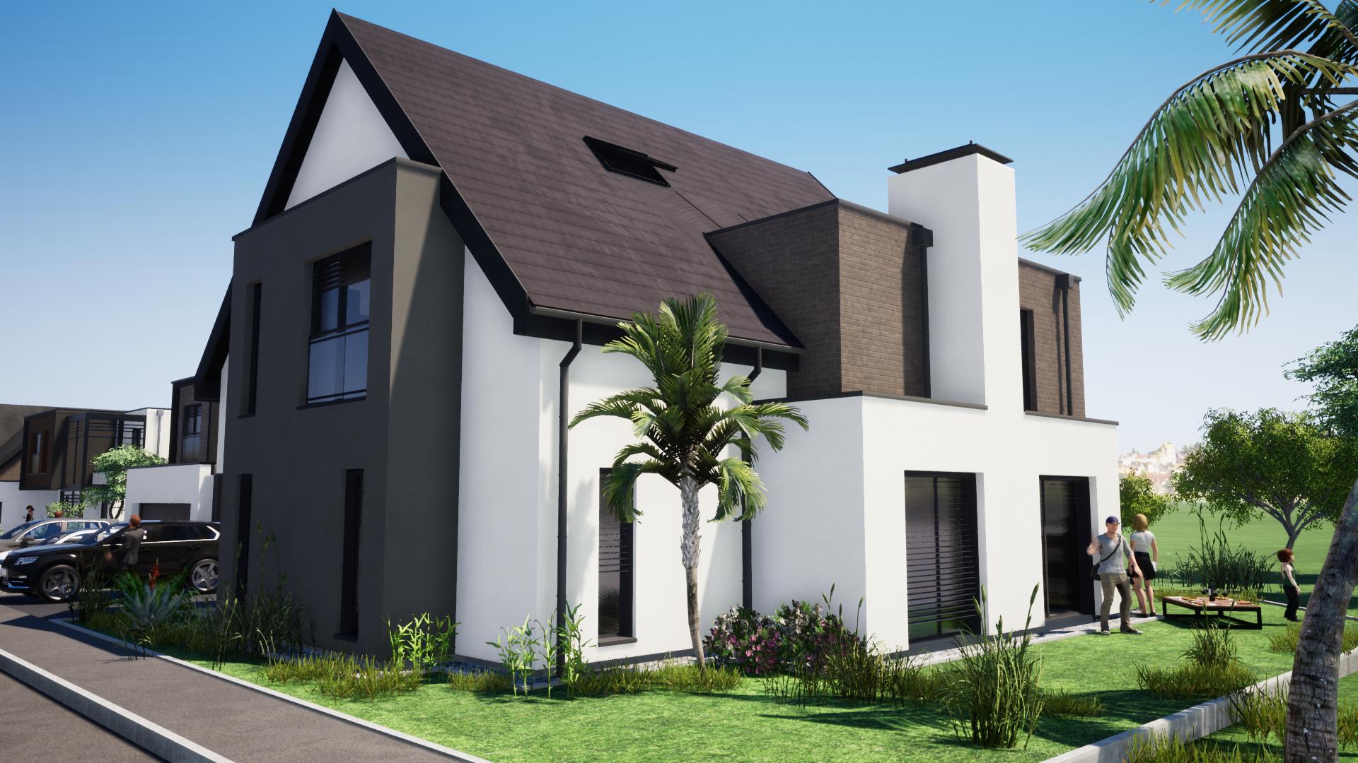 Maison neuve de 130 m2 à DONNENHEIM